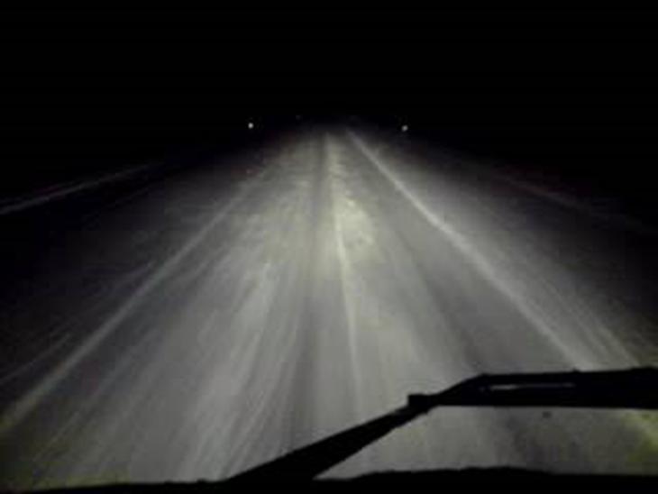 Regler for lang lys på motorvej